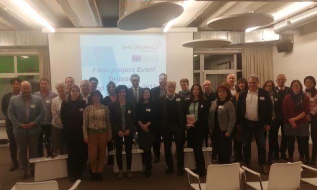 Konferencja podsumowująca projekt SME ORGANICS – Ekologiczne MŚP