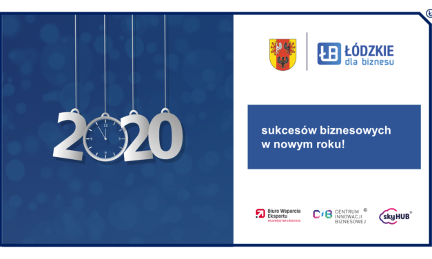 Sukcesów w Nowym 2020 Roku!