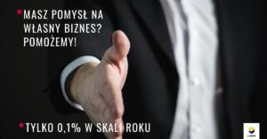 Pożyczka na własną firmę