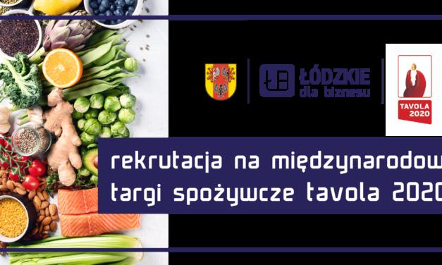 Weź udział w międzynarodowych targach spożywczych TAVOLA 2020