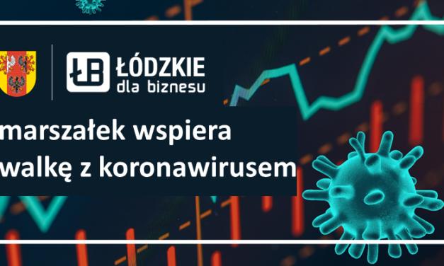 165 mln zł na walkę z koronawirusem w Łódzkiem