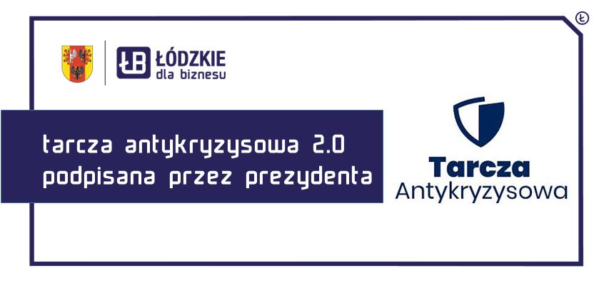 Tarcza Antykryzysowa 2.0 podpisana przez prezydenta