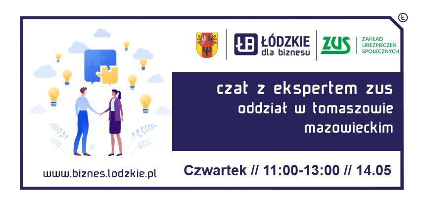 Czat z Ekspertem – ZUS Oddział w Tomaszowie Mazowieckim