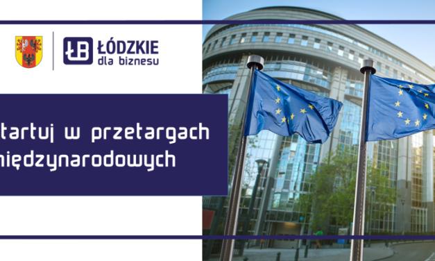 Zgłoś swój udział w przetargach i programach organizowanych w UE
