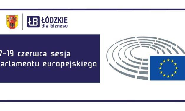 17-19 czerwca 2020 sesja plenarna Parlamentu Europejskiego