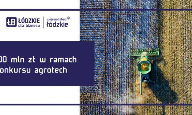 """Konkurs Szybka Ścieżka ,,Agrotech"""" z pulą 100 mln zł"""