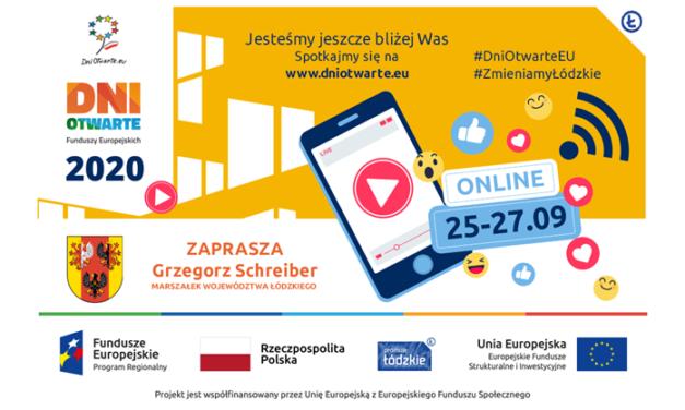 Dni Otwarte Funduszy Europejskich  25-27 września!