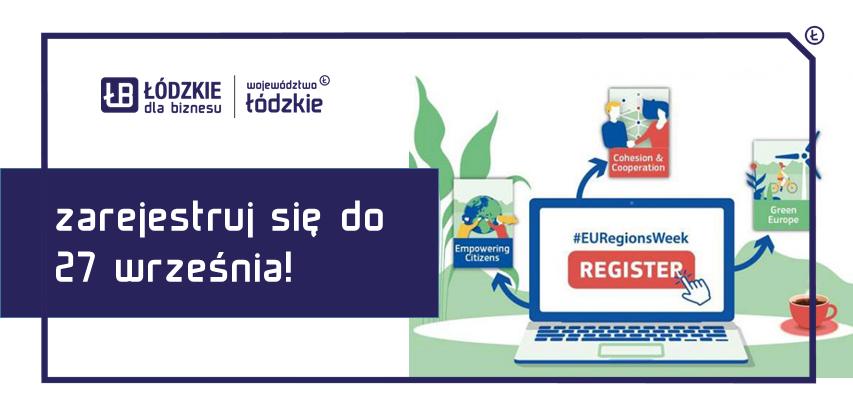 Przestrzeń dla rozwoju przedsiębiorczości – Europejski Tydzień Regionów i Miast – rejestracja otwarta!