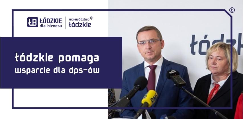 """""""Łódzkie Pomaga"""" – prawie 25 milionów zł wsparcia dla domów pomocy społecznej"""