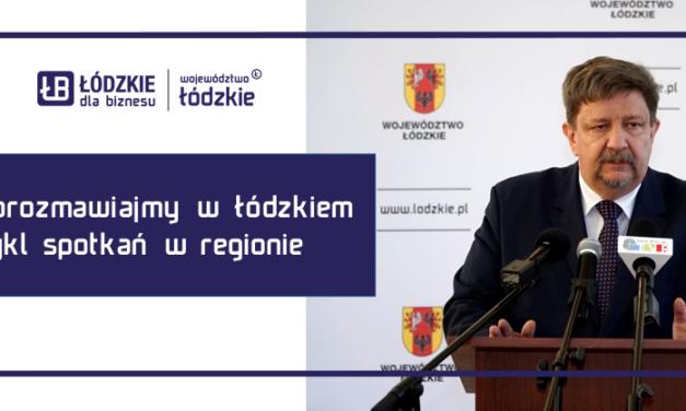 Porozmawiajmy w Łódzkiem – cykl spotkań marszałka z mieszkańcami