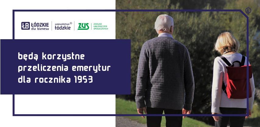 Ponowne przeliczenie emerytury rocznika 1953