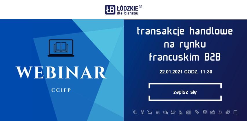 """Bezpłatne szkolenie pt. """"Transakcje handlowe na rynku francuskim – aspekty prawne i biznesowe"""""""