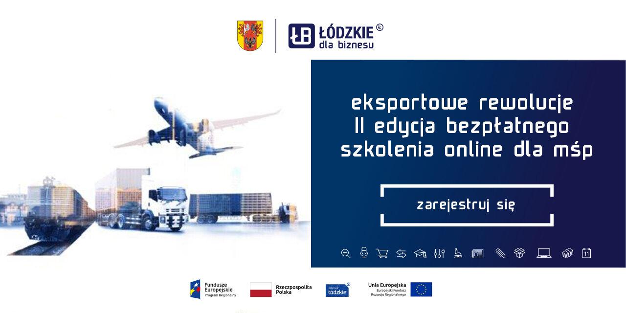 18 stycznia rozpoczynamy drugą edycję Eksportowych Rewolucji