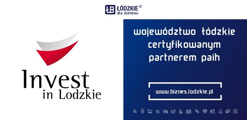 Województwo Łódzkie kolejny raz uzyskało tytuł Certyfikowanego Partnera Polskiej Agencja Inwestycji i Handlu S.A. na kolejne lata