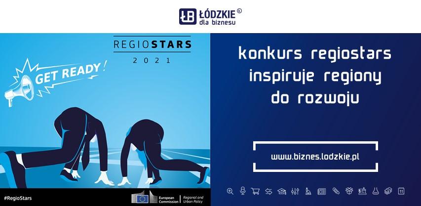 A może to Twój projekt zasługuje na  Regiostars 2021 – tegoroczna edycja już otwarta!