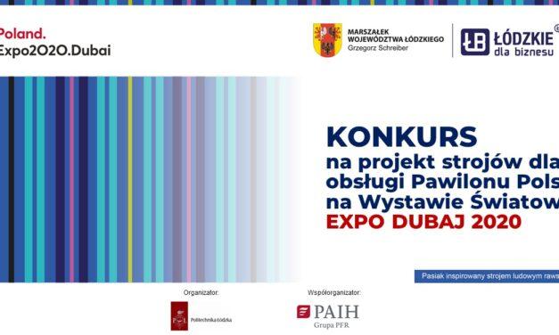 Konkurs na zaprojektowanie strojów dla obsługi Pawilonu Polskiego na EXPO DUBAJ 2020