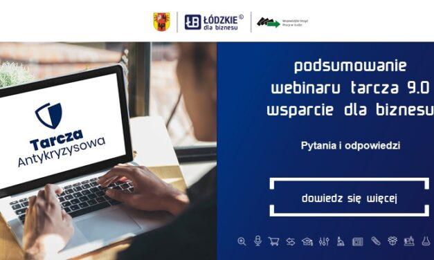 """Podsumowanie webinaru z ekspertem """"Tarcza Antykryzysowa 9.0 – wsparcie dla biznesu"""""""