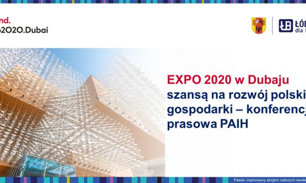 EXPO w Dubaju szansa na rozwój polskiej gospodarki